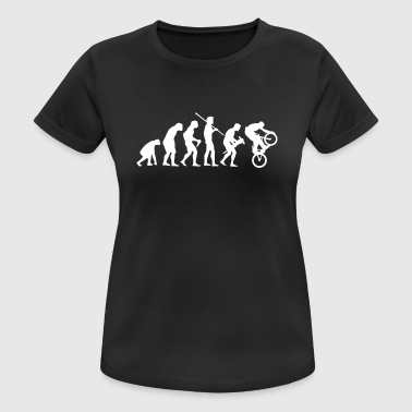 EVOLUTION MOUNTAINBIKE - Frauen T-Shirt atmungsaktiv