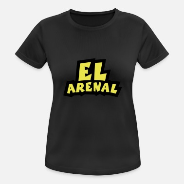 Arenal El Arenal Outline - Women's Sport T-Shirt