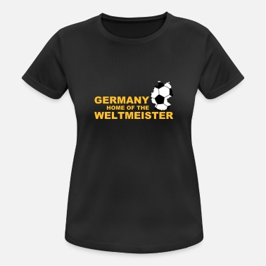 Eventyr germany home of the weltmeister 2 - Sports T-shirt dame