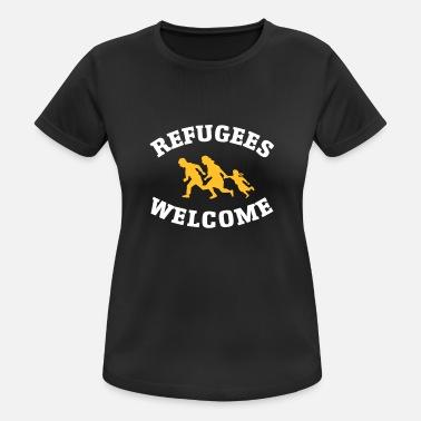 Welcome Refugees Welcome - Women's Sport T-Shirt