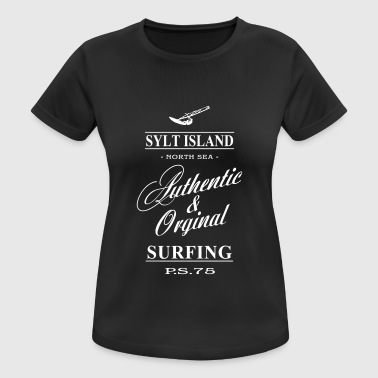 Sylt Surfing - Women's Breathable T-Shirt
