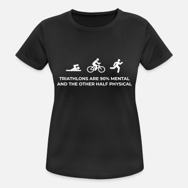 Triathlon Triathlon Mental - Sports T-shirt dame