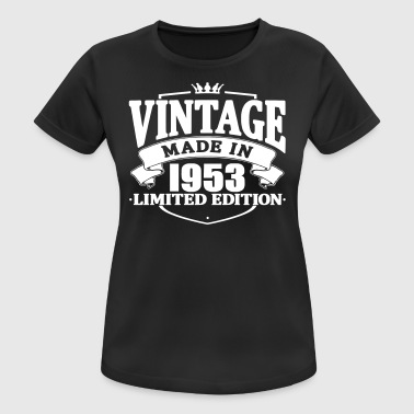 Made 1953 Vintage made in 1953 - Women's Breathable T-Shirt