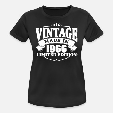 Made In 1966 Vintage made in 1966 - Women's Breathable T-Shirt
