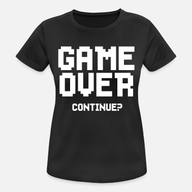 Game Shakers GAME OVER! - vrouwen T-shirt ademend