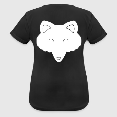 Wolf's head - Women's Breathable T-Shirt