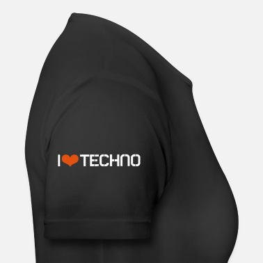 I Love Techno I Love Techno - Maglietta sportiva donna
