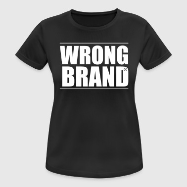 Wrong Brand: the ultimate brand parody - Women's Breathable T-Shirt
