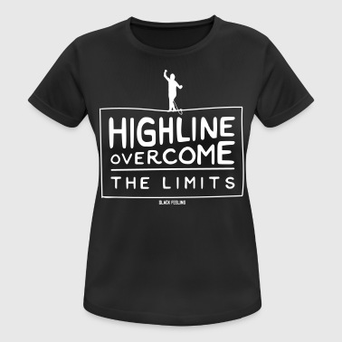 Highline - Overcome the Limits - Women's Breathable T-Shirt