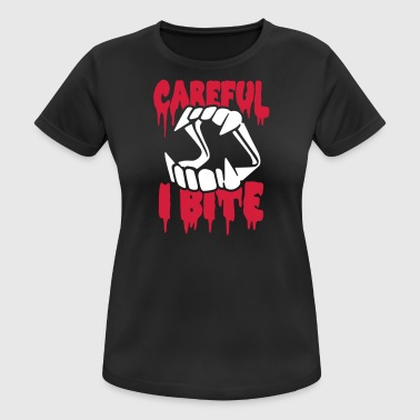 Attention, je mord - T-shirt respirant Femme