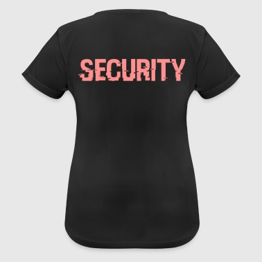 Cyber ​​Security - vrouwen T-shirt ademend