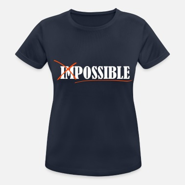 Impossible Impossible - Sport T-shirt dam