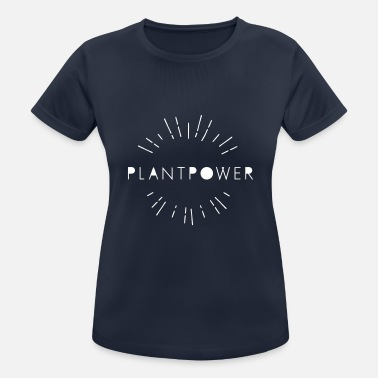 plantpower shine - Sport T-shirt dam