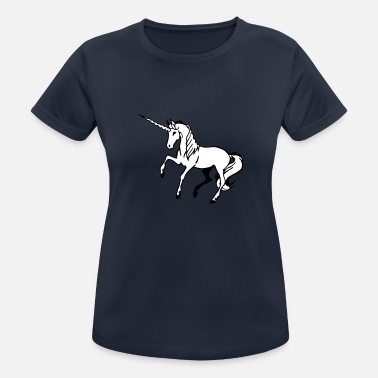 Broceliande Narwal - Frauen Sport T-Shirt