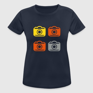 Appareil photo Appareil photo Appareil photo Appareil photo - T-shirt respirant Femme