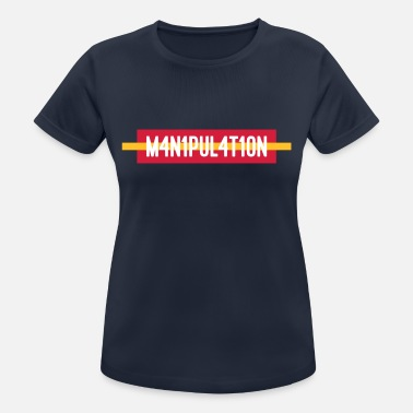 New Media FUCK MANIPULATION - NEWS / MEDIA / FACEBOOK / INST - Women's Breathable T-Shirt