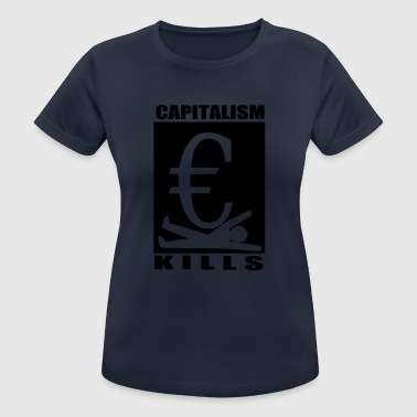 capitalism - Women's Breathable T-Shirt