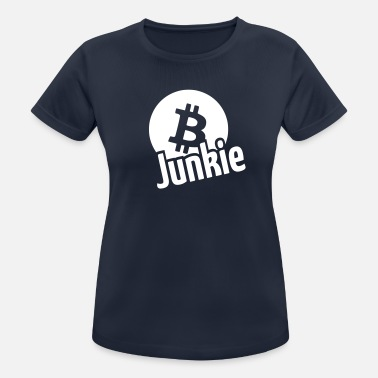 Sex Junkie Bitcoin junkie - Women's Breathable T-Shirt