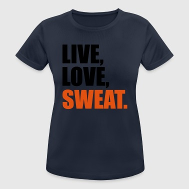 2541614 15362854 sweat - Frauen T-Shirt atmungsaktiv