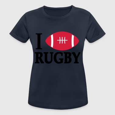 2541614 15789111 rugby - T-shirt respirant Femme