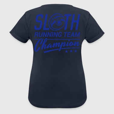 Sloth Running Team - Frauen T-Shirt atmungsaktiv