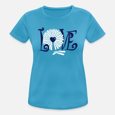 Oracle Love Flower Oracle / Daisy Oracle (2c) - Women's Sport T-Shirt