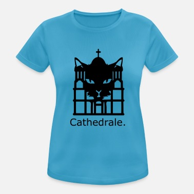 funny, idea, Cathedrale - Women's Sport T-Shirt