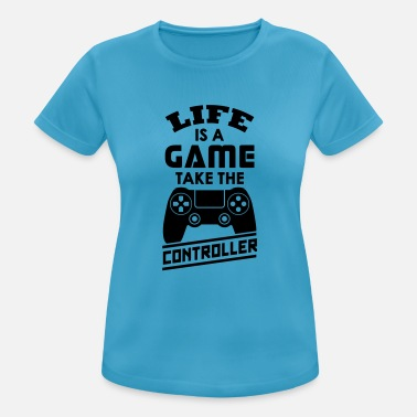 Gaming Life is a Game - T-shirt sport Femme