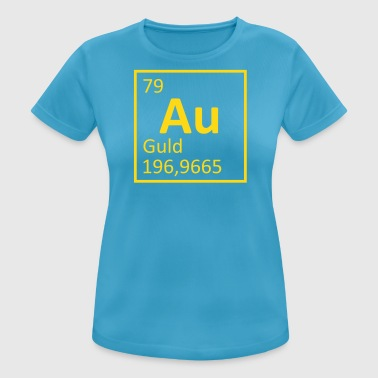 Au Gold - Women's Breathable T-Shirt
