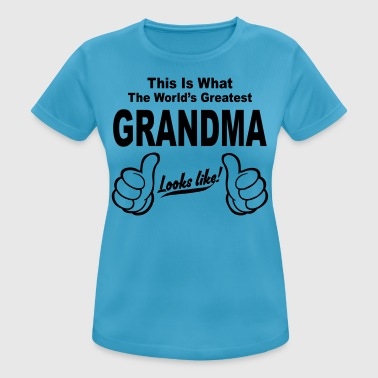 WORLDS GREATEST GRANDMA LOOKS LIKE - Women's Breathable T-Shirt