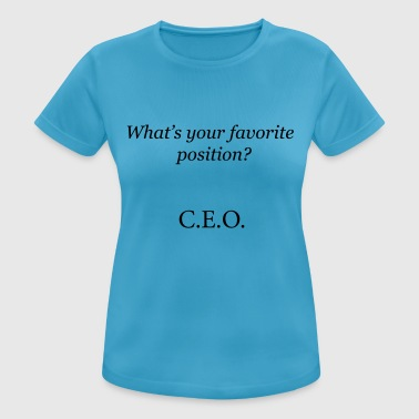 CEO - Women's Breathable T-Shirt
