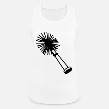 Toilet Brush Toilet brush - Women's Sport Tank Top