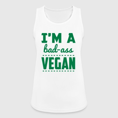 I'M A BAD-ASS VEGAN! - Women's Breathable Tank Top