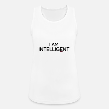 Intelligent Tøj Jeg er intelligent - Sports tanktop dame