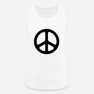 Sign peace sign hippie - Women's Sport Tank Top