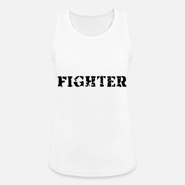 Fighter Fighter - Vrouwen sport tank top