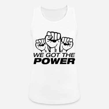 996 we_got_the_power_fa1 - Women's Sport Tank Top