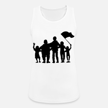 Fan fussballfans - fan - fans - Women's Sport Tank Top