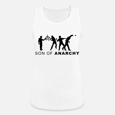 Unterklasse evolution_anarchy3 - Frauen Sport Tanktop