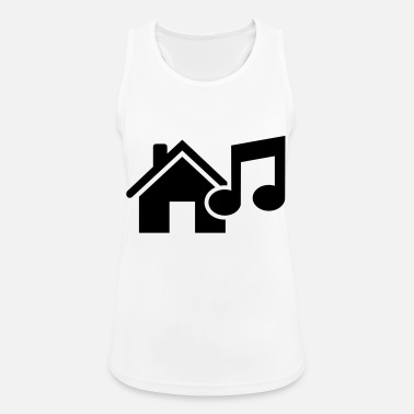 House House Music - Vrouwen sport tank top