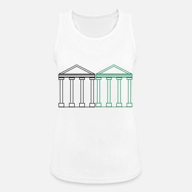 Ancient greek_buildings_2 - Women's Sport Tank Top