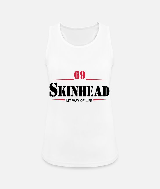 Ska Punk Tank Tops - Working Class Skinhead Oi! Antiracist Bootboys My - Women's Sport Tank Top white