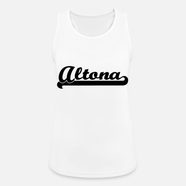 Altona altona writing - Women's Sport Tank Top
