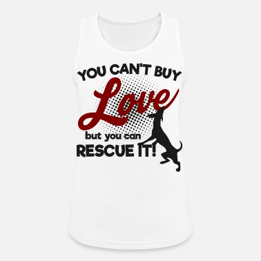 Dog saying shirt gift idea - Women's Sport Tank Top