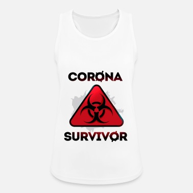Epidemic Corona Virus Epidemic Survivor - Women's Sport Tank Top