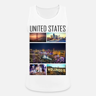Usa USA - USA - Sports tanktop dame