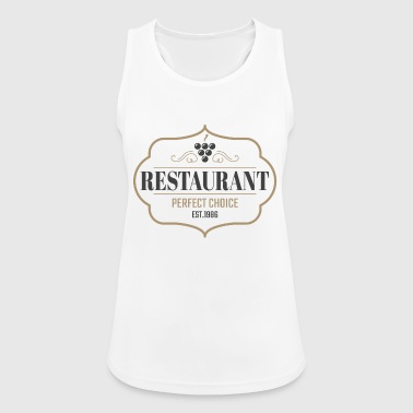 Restaurant Vintage restaurant - Women's Breathable Tank Top