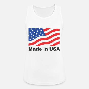 Made In Usa Made in USA - Débardeur respirant Femme