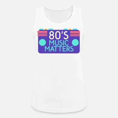 80s 80 - Women's Breathable Tank Top