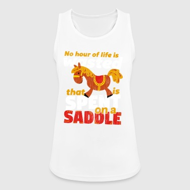 Spend on a Saddle - Women's Breathable Tank Top